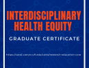 Health Equity Certificate Flyer